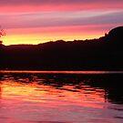 Sunset  Coachhouseturn Loch  Awe by Alexander Mcrobbie-Munro