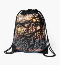 Color Me A Rainbow Drawstring Bag