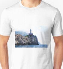 Amalfi Coast Lighthouse Unisex T-Shirt