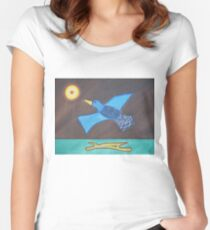 Duck! Fitted Scoop T-Shirt