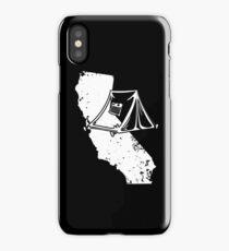 California Tent Shirt Love Tent Camping Distressed Gear iPhone Case/Skin