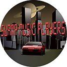 Swamp Music Players retro futuristic firebird saturn by swampmusicinfo