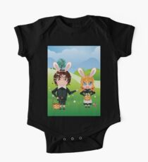 Easter Boy and Girl One Piece - Short Sleeve