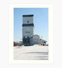 Dufresne, Manitobba Grain Elevator Art Print