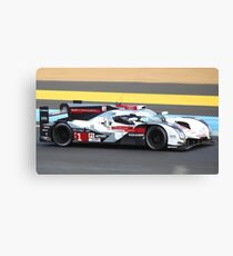 Audi R18 Canvas Print