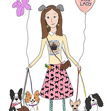 Crazy Dog Lady by GiddingsGifts