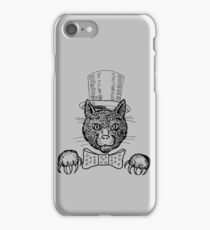 Tophat Cat iPhone Case/Skin