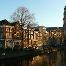 A well-known spot of Amsterdam by jchanders