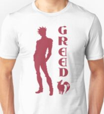 The Seven Deadly Sins - Ban Sin of Greed Unisex T-Shirt