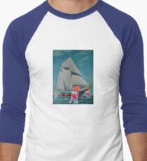 Beaker Bay Men's Baseball ¾ T-Shirt