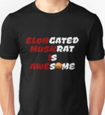 Elongated Muskrat Unisex T-Shirt