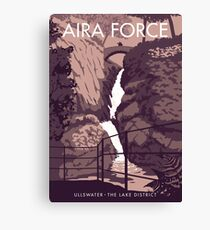 Aira Force, the Lake District Canvas Print