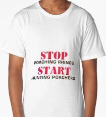 Stop poaching Long T-Shirt