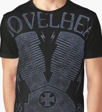 Shovelhead Motorcycle Engine Grafik T-Shirt