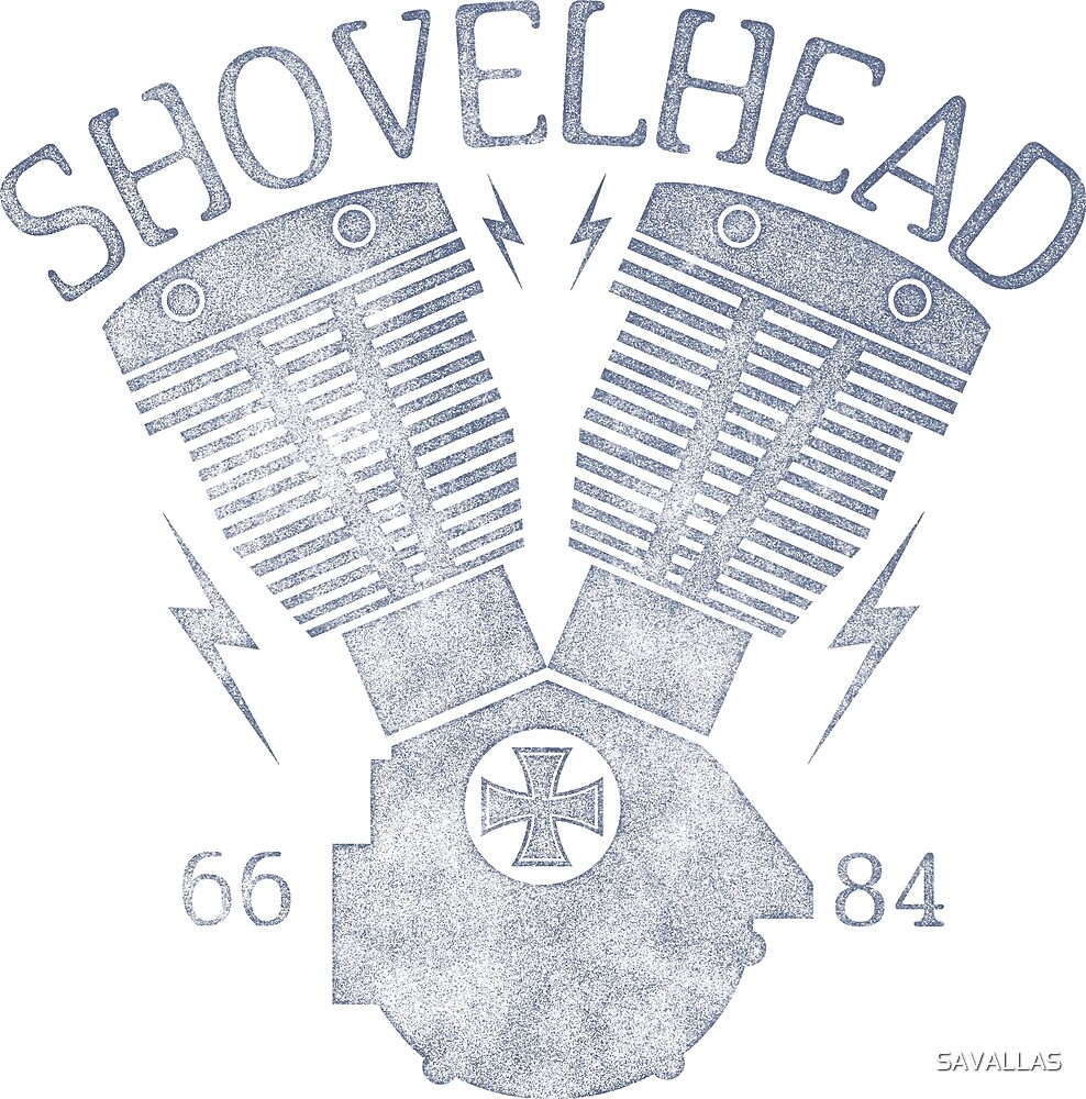 Shovelhead Motorcycle Engine von SAVALLAS