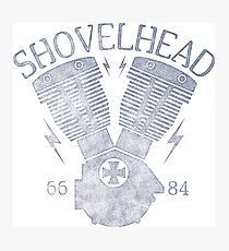 Shovelhead Motorcycle Engine Fotodruck