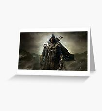 Elder Scrolls Greeting Card