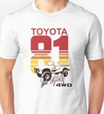1st gen Toyota Truck 4WD 1981 Unisex T-Shirt