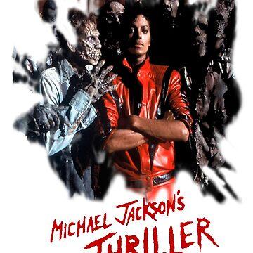 Michael jackson thriller the new t shirt by Washingtonsou