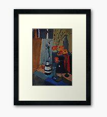 Artists' Studio: Artists Paint... Framed Print