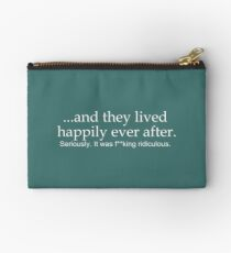 Happily Ever After- Bachelor and Bachelorette Party Studio Pouch