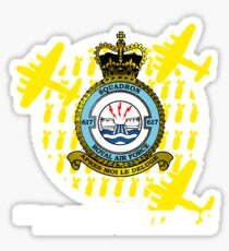 617 Squadron - Inspired by The Dambusters Sticker