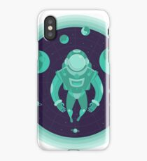 Astronaut Spaceman Outer Space iPhone Case