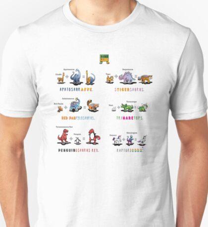 Dinomals Cheat Sheet! T-Shirt