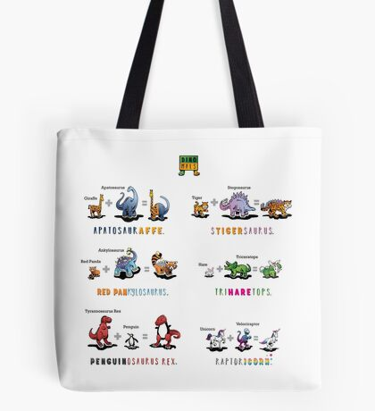Dinomals Cheat Sheet! Tote Bag