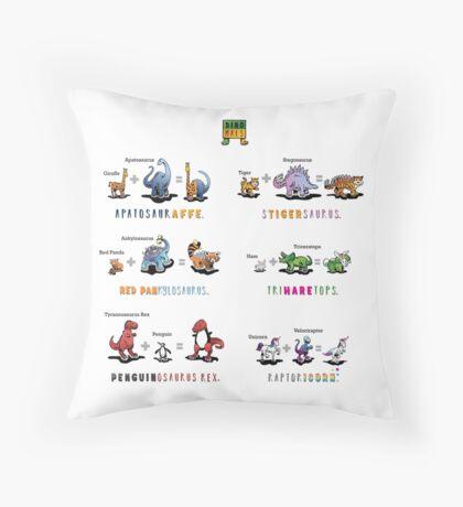 Dinomals Cheat Sheet! Throw Pillow
