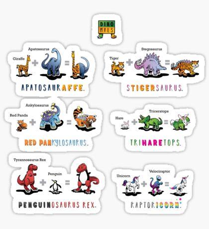 Dinomals Cheat Sheet! Sticker