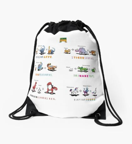 Dinomals Cheat Sheet! Drawstring Bag