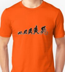 cyclist darwin cycling bike bicycle T-Shirt