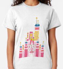 25th Birthday Magic Cake Castle Classic T-Shirt
