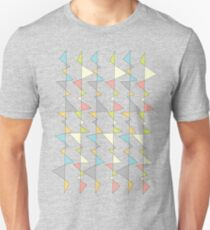 Retro Triangles Unisex T-Shirt