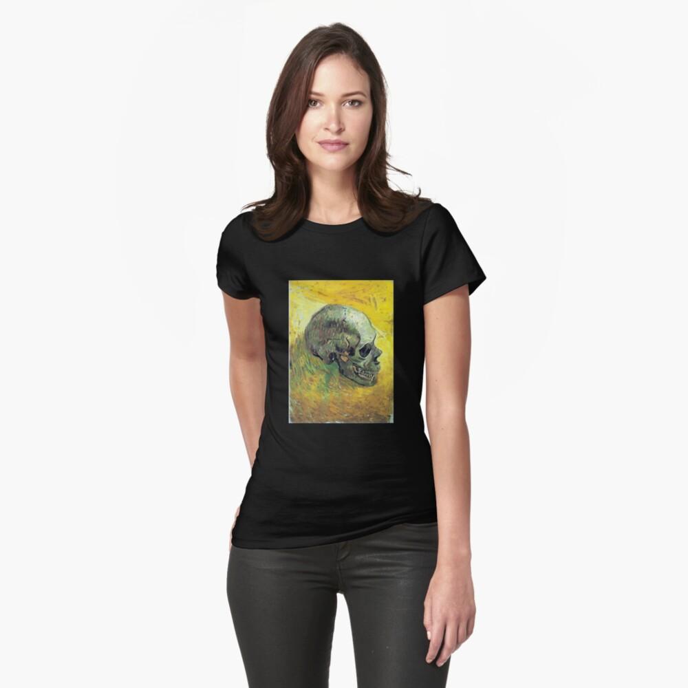 Vincent van Gogh Schädel Tailliertes T-Shirt