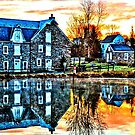 Reflection At Wagner Mill - HDR by DJ Florek
