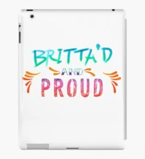 Community: Britta'd & Proud iPad Case/Skin