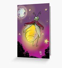 Lightning Bug Greeting Card