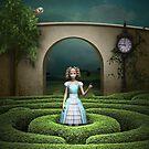 « Labyrinthe du pays des merveilles » par Britta Glodde