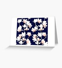 magnolia midnight Greeting Card