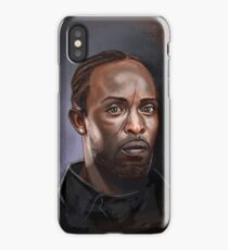 Omar Little - The Wire -  Famous People iPhone Case