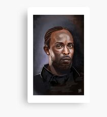 Omar Little - The Wire -  Famous People Canvas Print