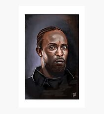 Omar Little - The Wire -  Famous People Photographic Print