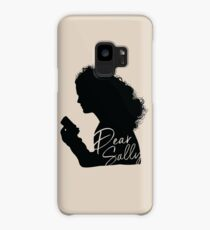 Dear Sally (Black Version) Case/Skin for Samsung Galaxy