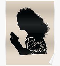 Dear Sally (Black Version) Poster