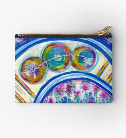 Energetic Playground: Inner Power Painting Studio Pouch
