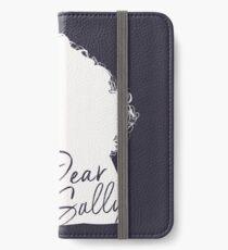 Dear Sally (White Version) iPhone Wallet/Case/Skin