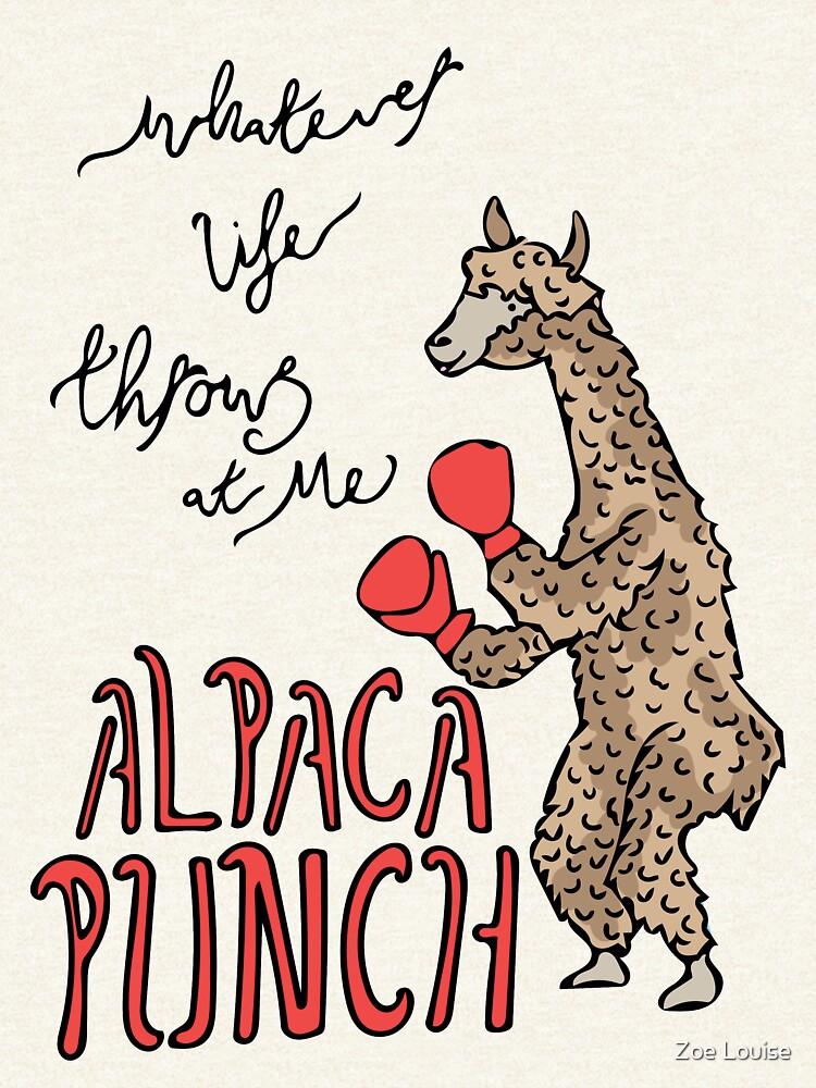 Alpaka-Punsch von zoelouisedesign