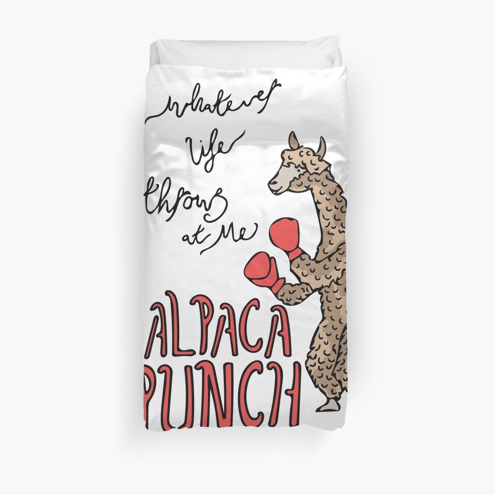Alpaka-Punsch Bettbezug